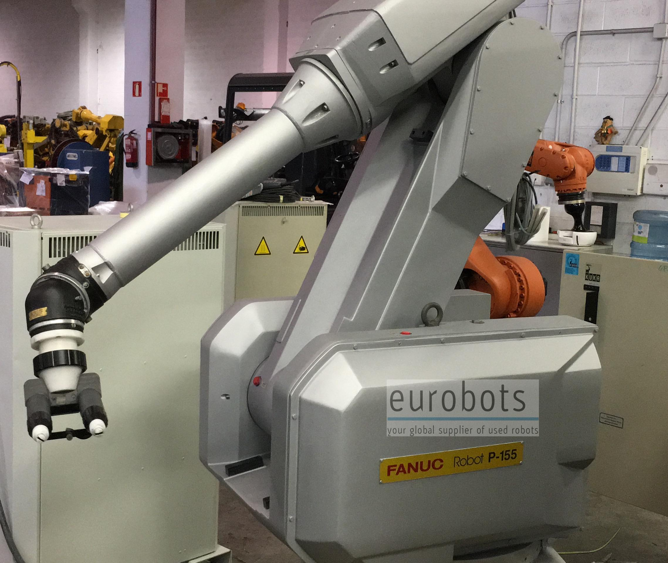 Robot Fanuc P-155 paint RJ2 | Eurobots it
