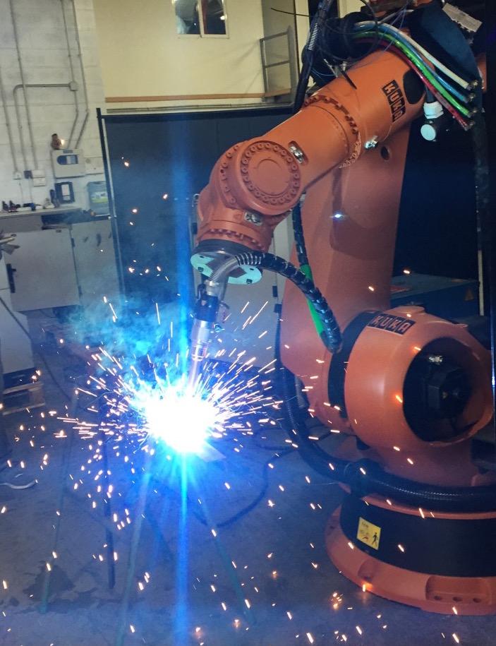 Robot usati KUKA saldatura