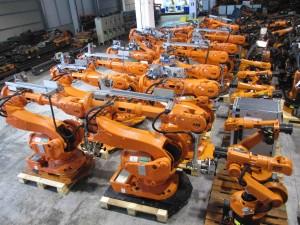 Robot usati abb