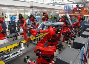 Robot usati Comau articolo